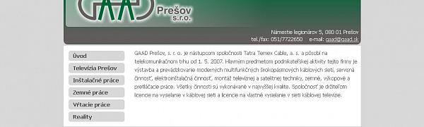 GAAD Prešov, s.r.o.